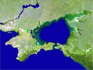 Географическая карта Крыма