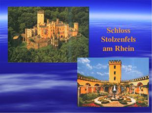 Schloss Stolzenfels am Rhein