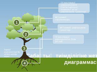 Сабақтың тиімділігіне жету диаграммасы Оқушылардың коммуникативтік (топтасты