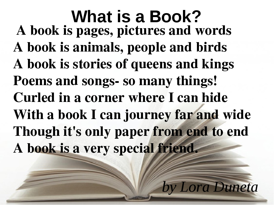 A book is pages, pictures and words A book is animals, people and birds A bo...