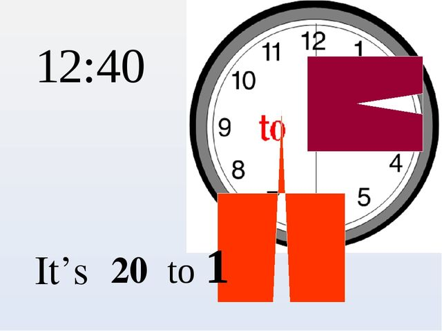 12:40 It's 20 to 1