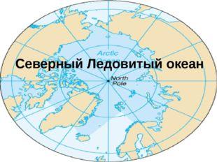 Северный Ледовитый океан Площадь: 14,75 миллионов кв. км. Средняя глубина: 12