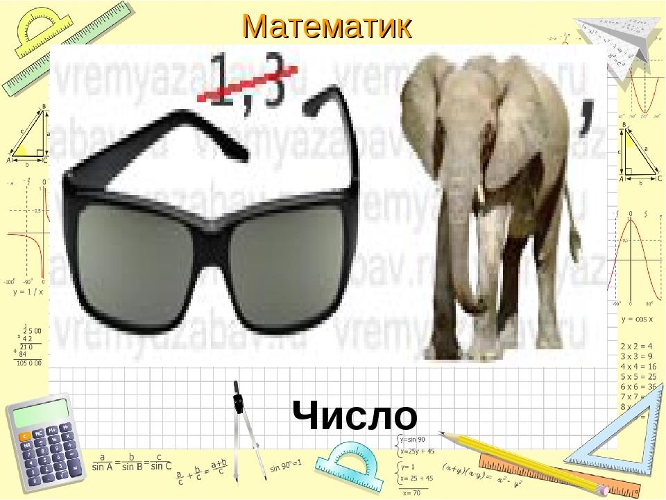 Число Математика
