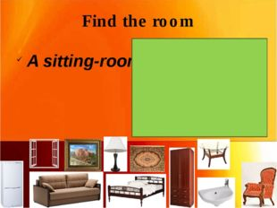 Find the room A sitting-room