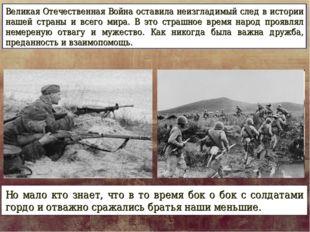 Великая Отечественная Война оставила неизгладимый след в истории нашей страны