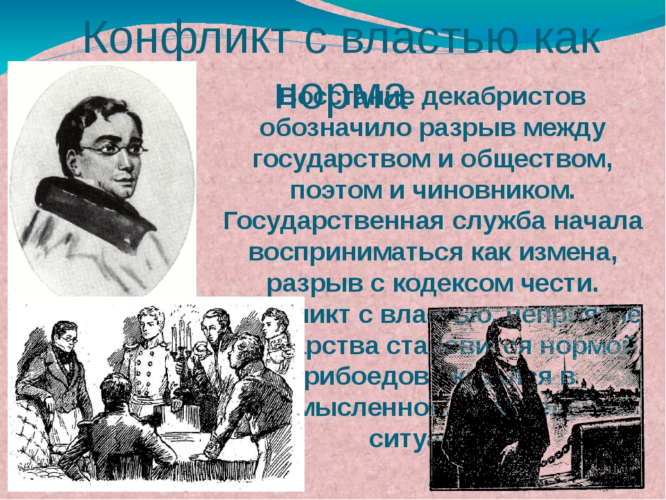 Восстание декабристов обозначило разрыв между государством и обществом, поэто...