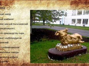 Экономика[ сахарный завод пищевой комбинат Комбинат мясной Калачеевский (не ф