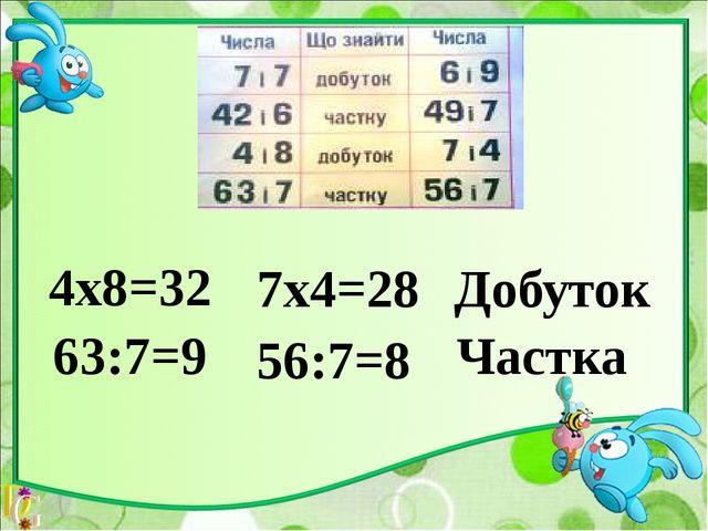 У 6 разів більше-Х 4х6=24 4+24=32