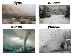вихрь ураган буря вьюга