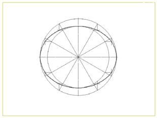 5 Здобуті точки сполучити послідовно плавною кривою Слайд7