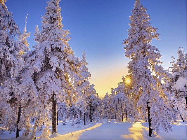 Зима в произведениях писателей, художников, композиторов
