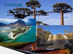 Туризм на Мадагаскаре является одним из основных источников роста экономики с