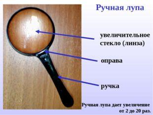 Ручная лупа увеличительное стекло (линза) ручка Ручная лупа дает увеличение о