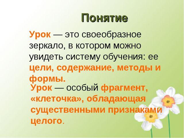 Урок — это своеобразное зеркало, в котором можно увидеть систему обучения: ее...