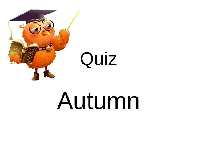 Quiz Autumn