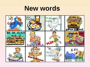 New words