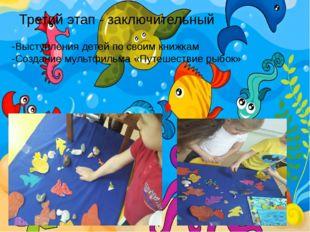 Третий этап - заключительный -Выступления детей по своим книжкам -Создание му