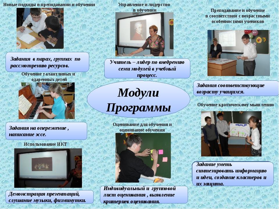 Обучение талантливых и одаренных детей Новые подходы в преподавании и обучени...