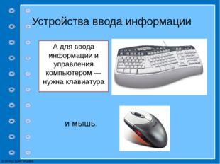 Дополнительные устройства Принтер Сканер © Фокина Лидия Петровна