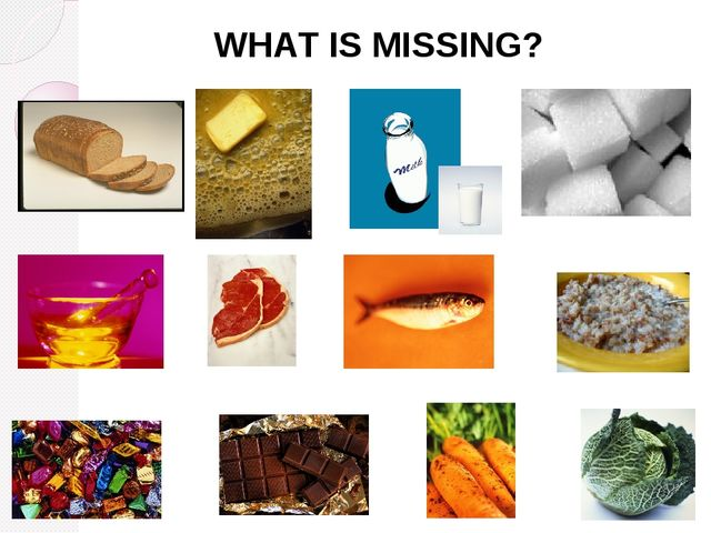 WHАТ IS MISSING?