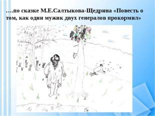 ….по сказке М.Е.Салтыкова-Щедрина «Повесть о том, как один мужик двух генерал