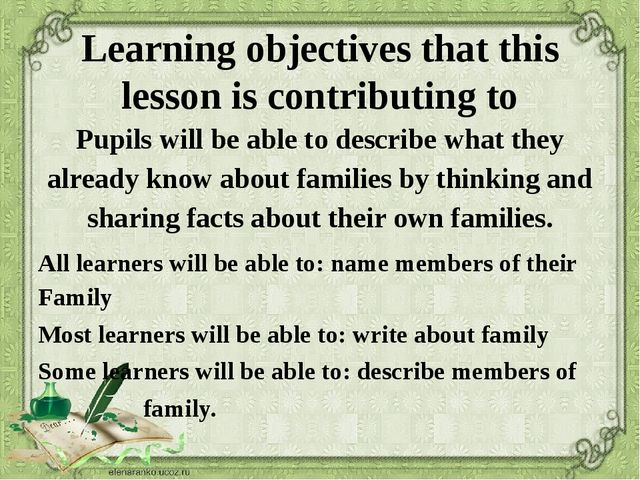 Learning objectives that this lesson is contributing to Pupils will be able t...