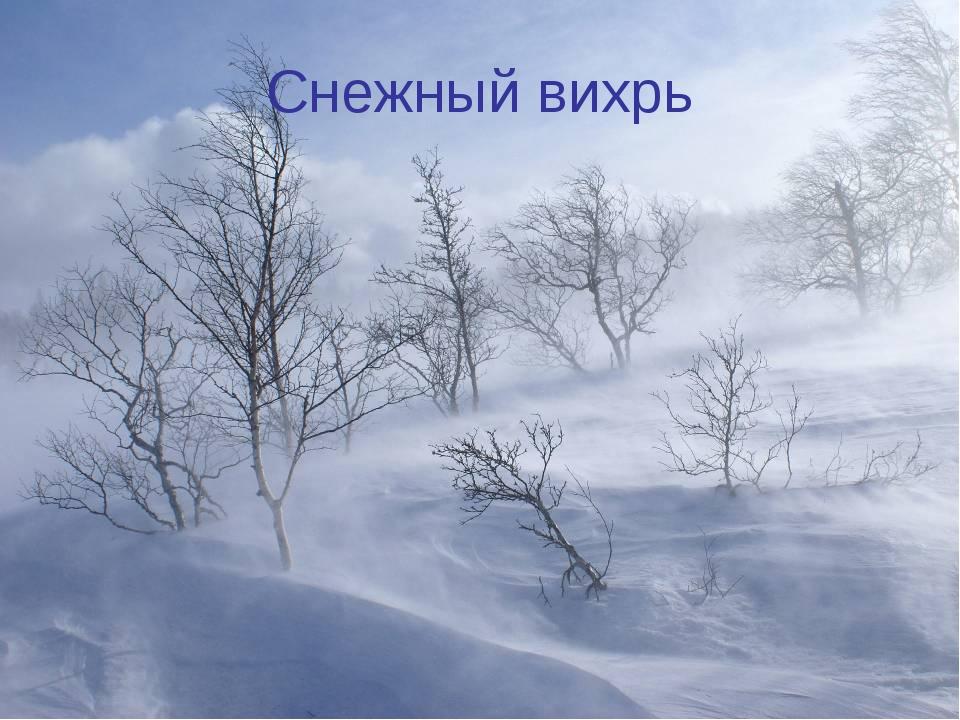 Снежный вихрь