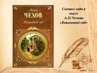 Символ сада в пьесе А.П.Чехова «Вишневый сад»