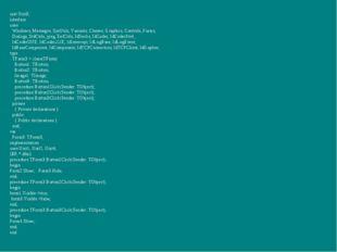 unit Unit3; interface uses Windows, Messages, SysUtils, Variants, Classes, Gr