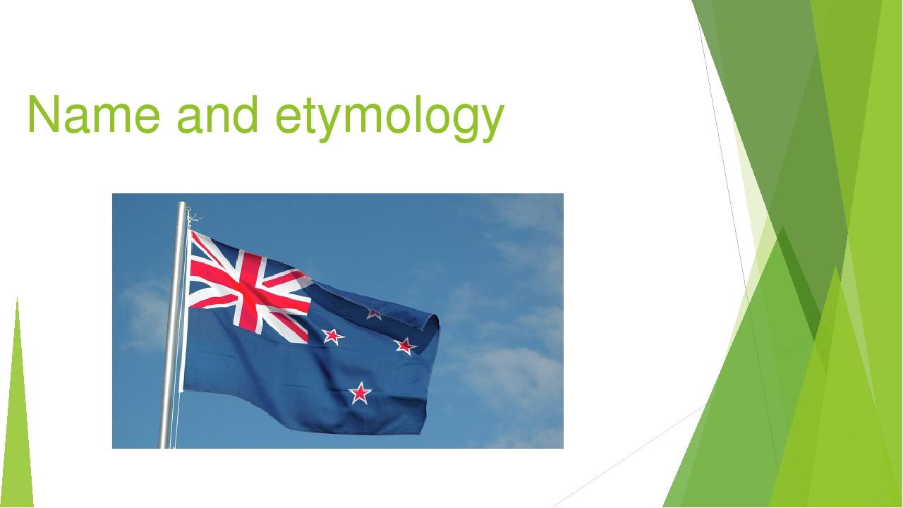 Name and etymology