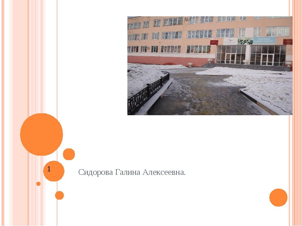Снеговой покров как индикатор чистоты воздуха Сидорова Галина Алексеевна.