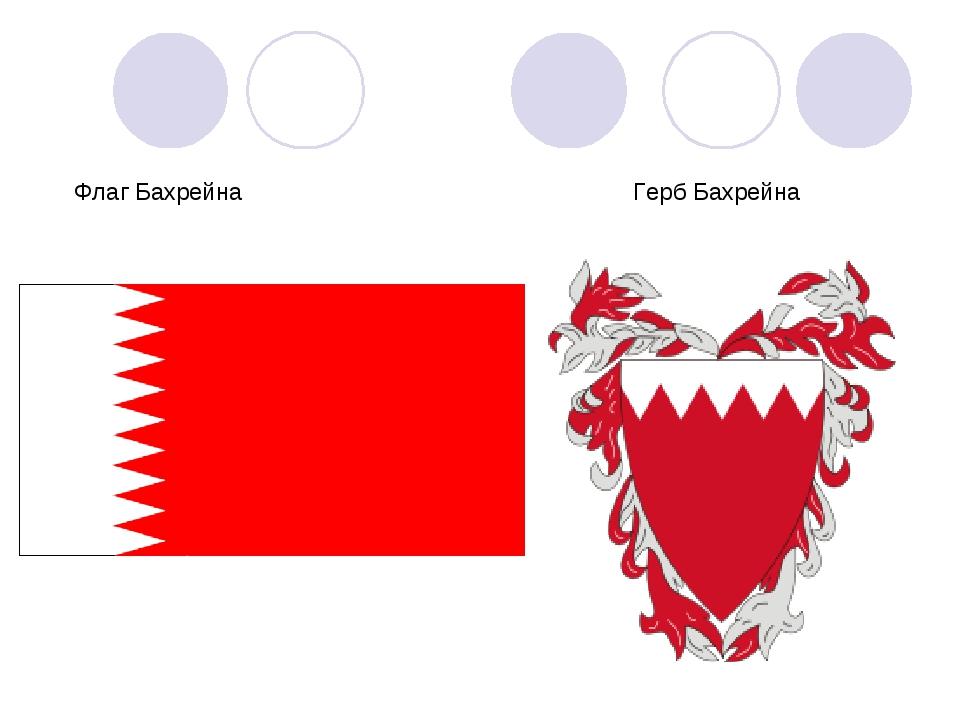 Флаг Бахрейна Герб Бахрейна