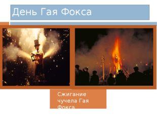 Сжигание чучела Гая Фокса День Гая Фокса
