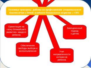 Ориентация на «зону ближайшего развития» каждого ребенка Безоценочный подход