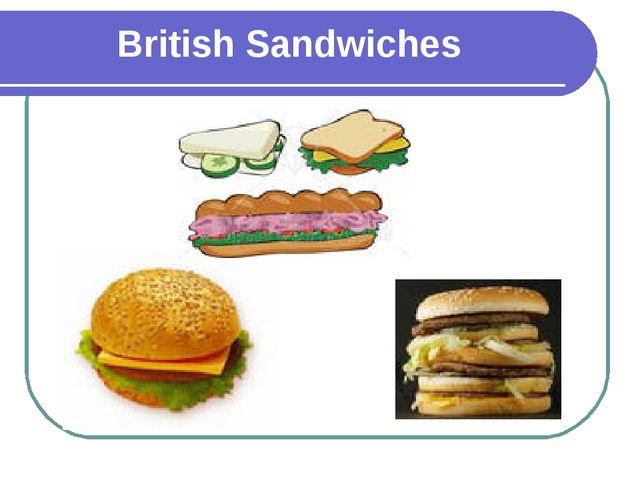 British Sandwiches