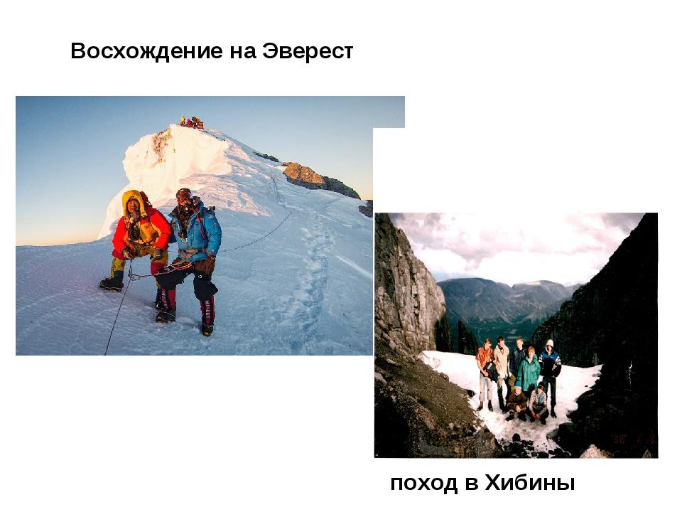 Восхождение на Эверест поход в Хибины