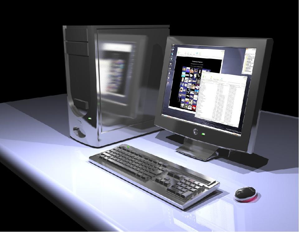 Viel neues Wissen, neue Technologien. Computer, Internet... Und das Handy nat...