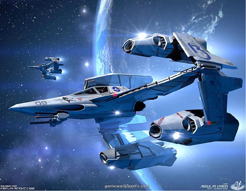 sogar Weltraumschiffe
