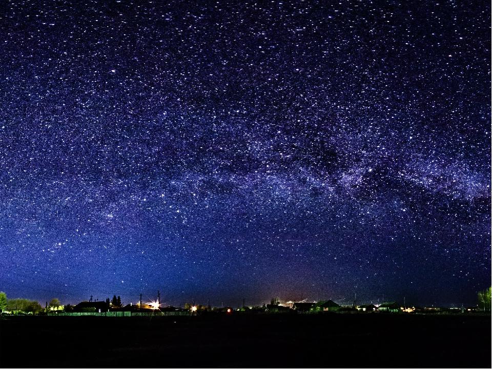 фото зоряного неба часто бывают