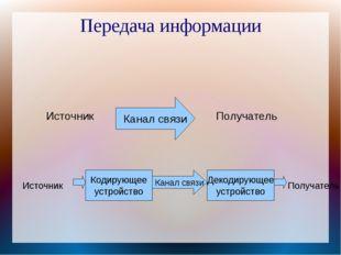 Хранение информации Носитель информации — материальный объект, предназначенны