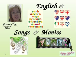 Victoria Kim E & S & M V K English & Songs & Movies