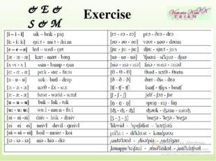 Exercise & E & S & M