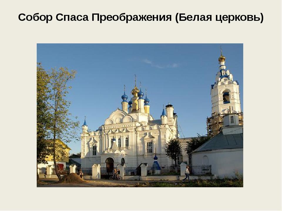Собор Спаса Преображения (Белая церковь)