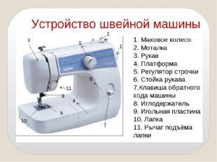 Все современные бытовые швейные машины оснащены электрическим приводом, кото