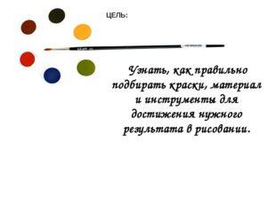 Узнать, как правильно подбирать краски, материал и инструменты для достижени