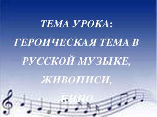 Выразительные средства музыки Хор «Вставайте, люди русские…» (кантата «Алекса