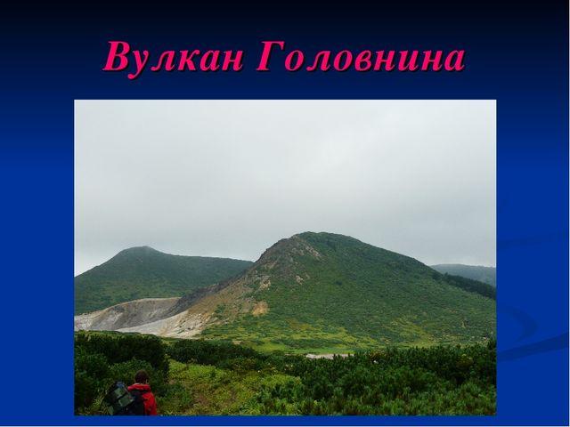 Вулкан Головнина