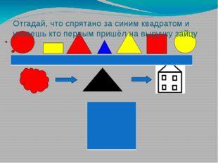 Отгадай, что спрятано за синим квадратом и узнаешь кто первым пришёл на выру