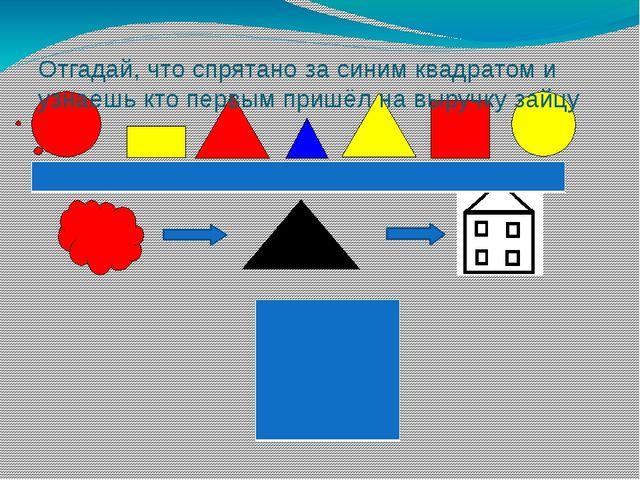 Отгадай, что спрятано за синим квадратом и узнаешь кто первым пришёл на выру...