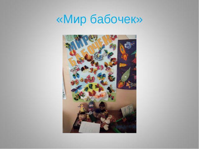 «Мир бабочек»